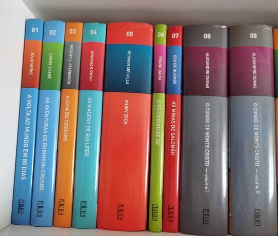 Coleção de vários livros nova