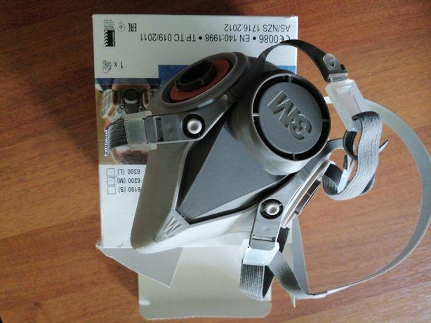 Maska 3M 6000 nowa z kompletem filtrów