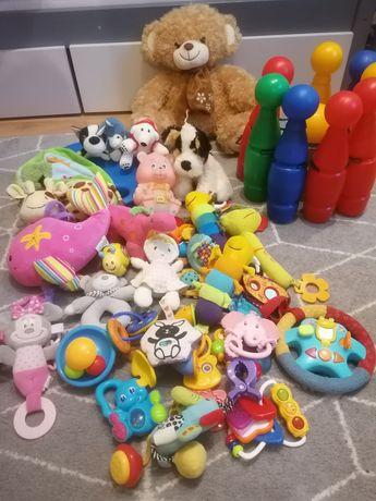 Komplet zabawek niemowlęcych fisher prize canpol babies