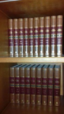 Grande Dicionário Enciclopédico Ediclube 18 Volumes + Atlas Geográfico