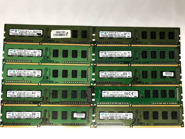 оперативная память 2gb DDR3 Samsung PC3-10600 1333MHz для ПК