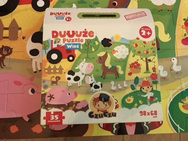 4 pudełka Puzzle dla dzieci