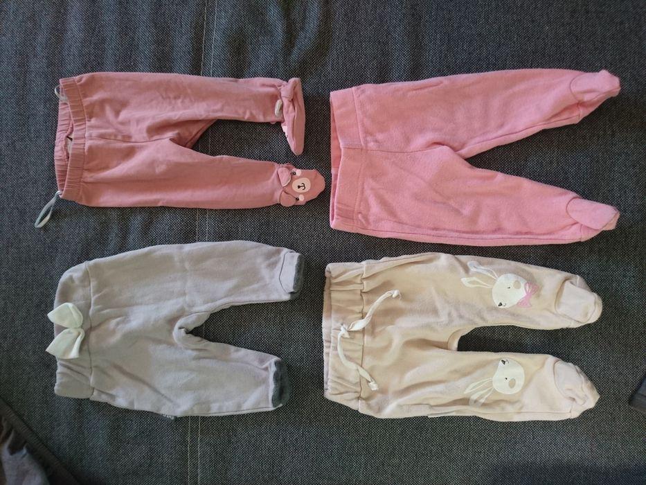 Półspiochy Ewa Klucze, H&M, Auchan 50, 56, 62 cm little. spodnie Grudziądz - image 1