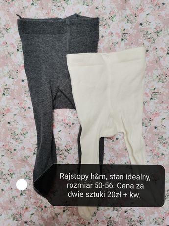 Rajstopy h&m rozmiar 50/56