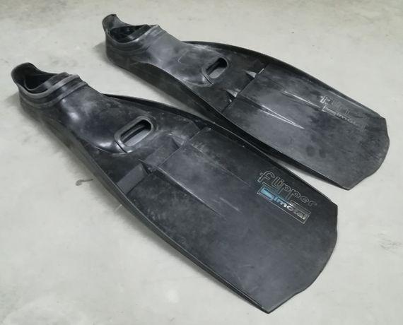 Barbatanas de mergulho