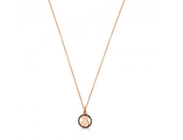 Tous naszyjnik Camille Vermeil różowe złoto spinele 45cm