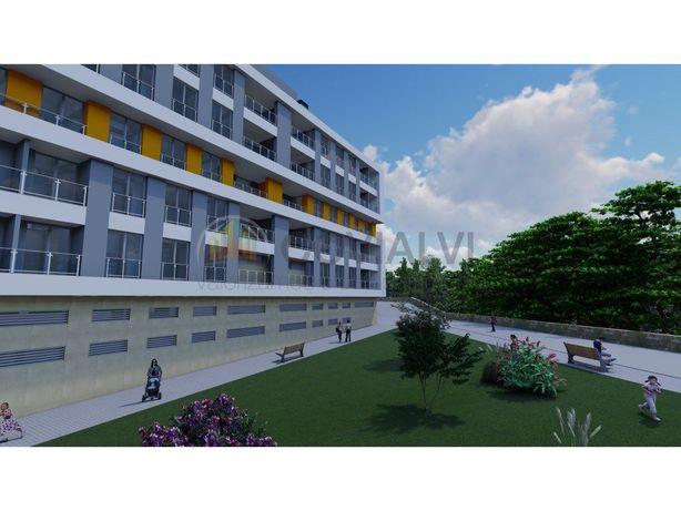 Apartamento T1 R-CH Frtº Drtº em Construção