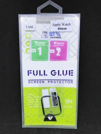 Película de gel Full Cover para Apple Watch 40mm / Película protectora
