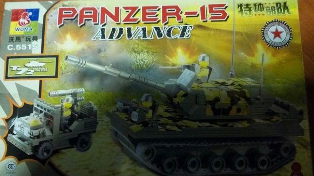 конструктор военные действия 312 деталей, аналог Lego