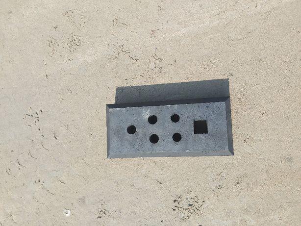 Stopa ogrodzenia tymczasowego PVC , ogrodzenia tymczasowe