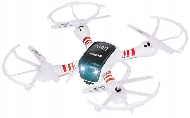 Dron DOVE KAMERA podgląd żyroskop powrót WiFi FPV