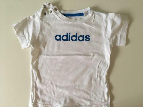 T-shirt z krótkim rękawem ADIDAS rozmiar 80