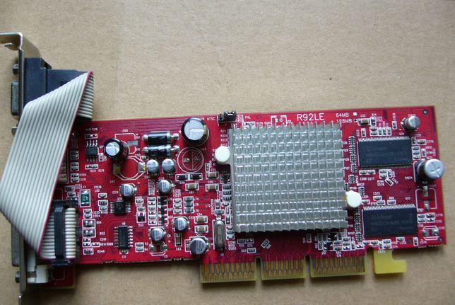 Karta graficzna ATI RADEON 9250 R92L-LC3 128mb