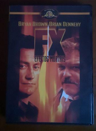 """DVD """"FX - Efeitos Mortais"""""""