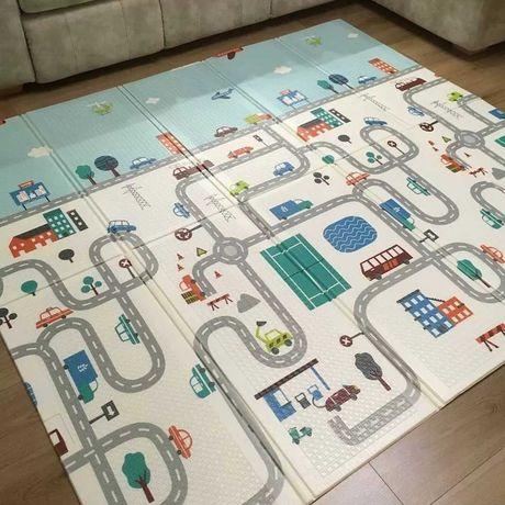Детский развивающий термо коврик