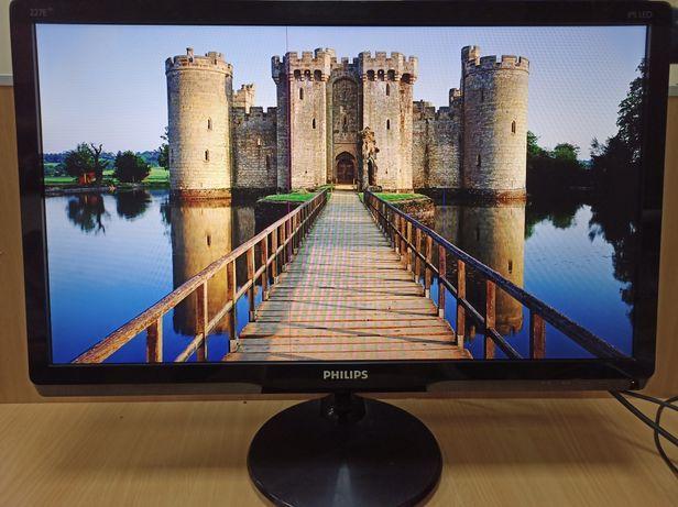 """Монитор 22"""" дюйма Philips 227E4Q IPS Full-HD HDMI VGA AUDIO OUT"""