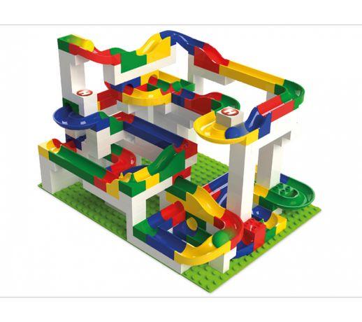 Большой строительный набор конструктор лабиринт Hubelino, 200 шт