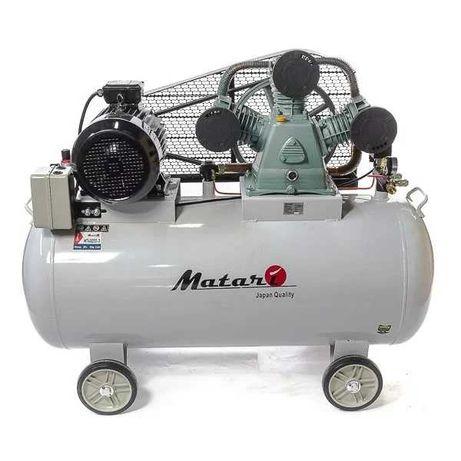 Компрессор повітряний Matari M740E55-3 5,5кВт,бак 270л,880л/хв