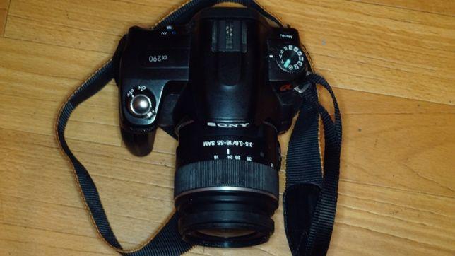 Фотоаппарат Sony a290, торг, обмен на оптику сони Минолта.