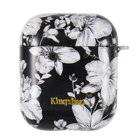 Capa Silicone Traseira Kingxbar Airpods Case Protective Box Airpods Headphones Lily