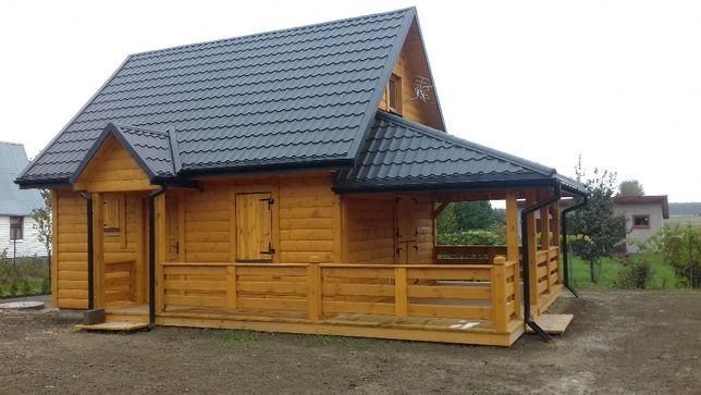 Domek Letniskowy Domki letniskowe Dom Drewniany Domy Drewniane