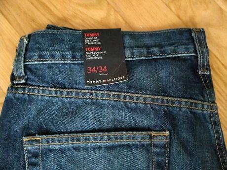 Spodnie jeansowe Tommy Hilfiger, Nowe Oryginalne 34/34