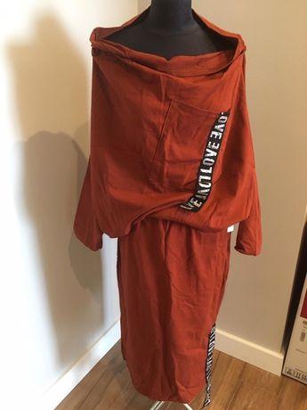 Komplet bluza i spódnica Love rozmiar L - XL