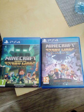 Gra minecraft story mode. dwie czesci