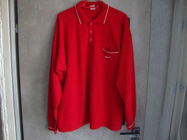 Bluza NIKE męska czerwona rozmiar XL.