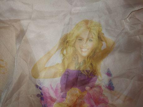 Hannah Montana Miley Cyrus Firany firanki tiulowe z tiulu 2szt