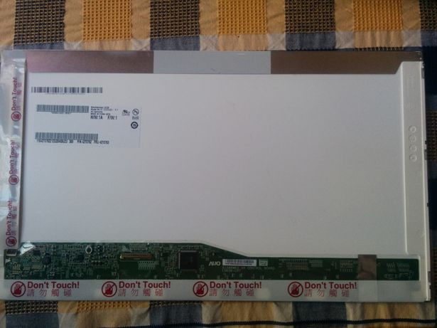 """Painel LCD HD+ 15.6"""" 1600x900 Mate AUO B156RW01 V.1"""