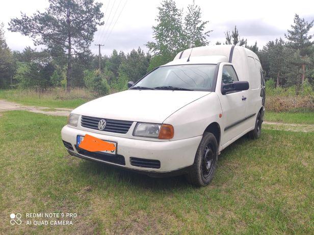 VW caddy 1.9 Sdi 2001r 165tys przebieg VAT 1 Zamiana
