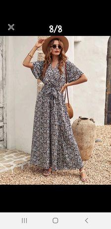 Vestido comprido de verão
