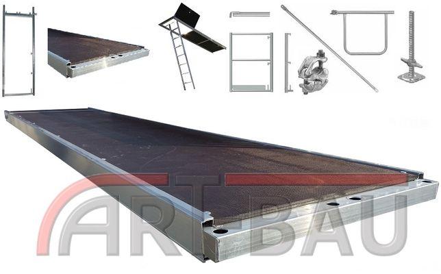 Rusztowanie Rusztowania ALUMINIOWE PLETTAC ok. 200 m2