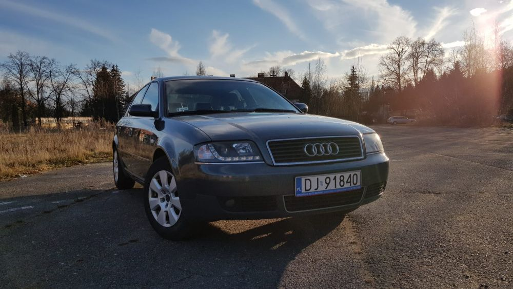 Audi A6 C5 2.4 V6 LIFT + LPG SKÓRY Jelenia Góra - image 1