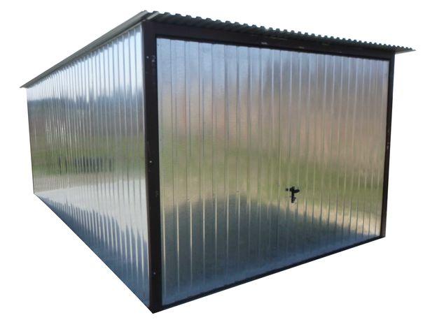 Garaż Blaszany WZMOCNIONY Blaszak na budowę Brama Garaż na wymiar !!!