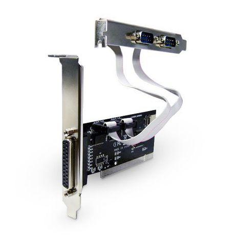 Контроллер PCI на 2 x RS-232 COM Порт + PCI на LPT Пор