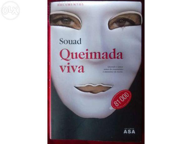 Livro Queimada Viva