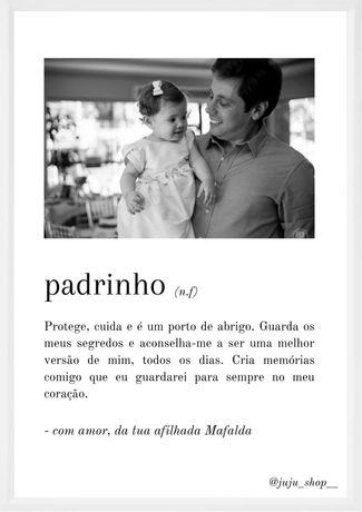 Ilustração para Madrinha / Padrinho