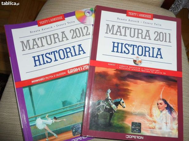 Testy maturalne OPERON historia