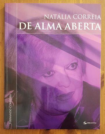 Livro - Natália Correia - De Alma Aberta