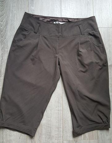 brązowe spodnie xl