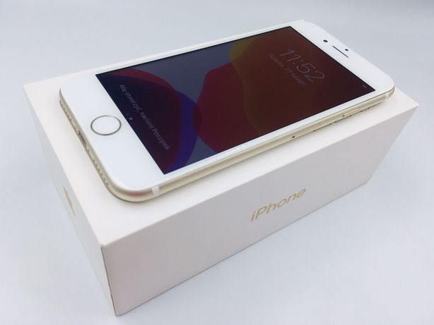 iPhone 7 128GB GOLD • NOWA bateria • GWAR 1 MSC • AppleCentrum