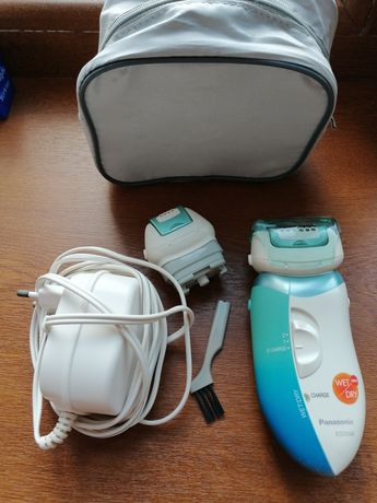 Эффективный эпилятор Panasonic ES 2056 для влажной и сухой эпиляции