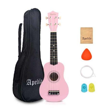 Укулеле сопрано (гавайская гитара) APELILA (Полный Набор). Скидка -17%