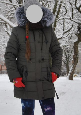 Зимняя куртка парка р-р46