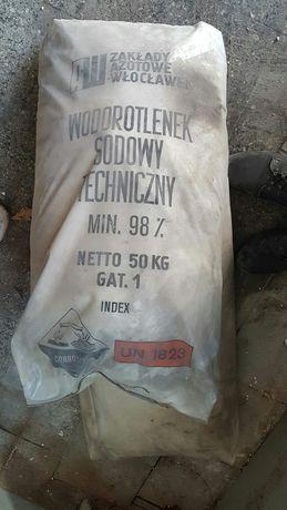 Wodorotlenek sodowy Techniczny 98% soda kaustyczna 50kg