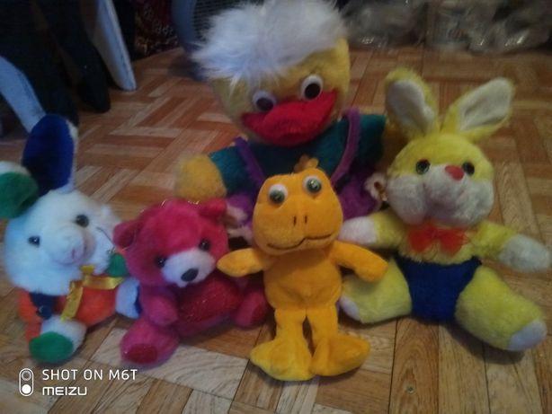 детские игрушки, мягкие