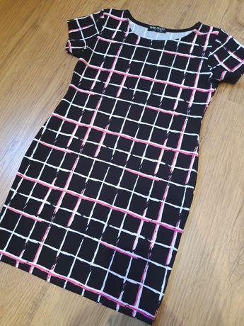 Платье в клетку S