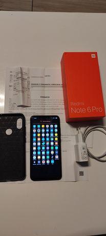 Xiaomi Redmi Note 6 Pro kompletny stan bdb